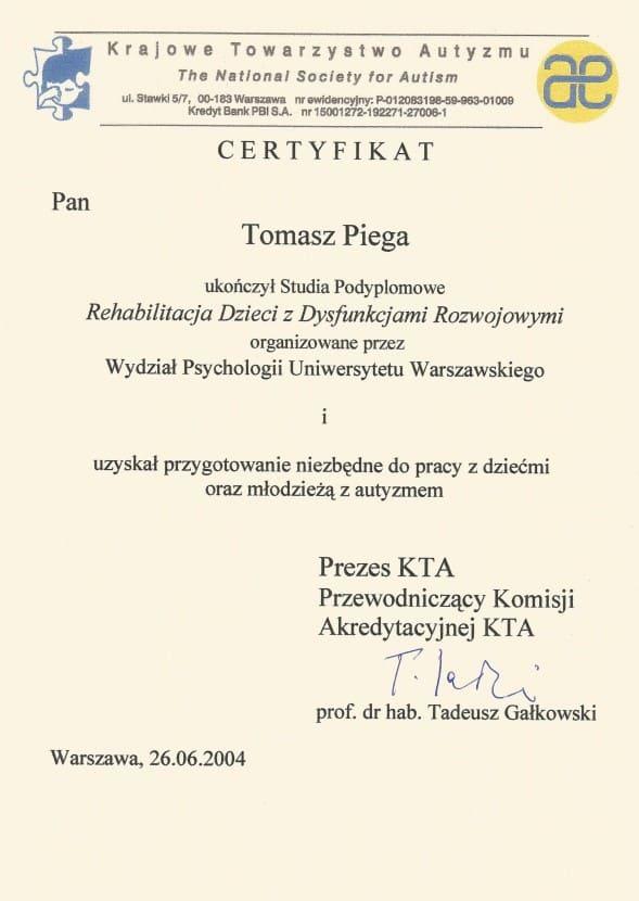 certyfikat kta